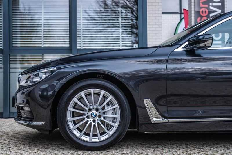 BMW 7 Serie 750i xDrive High Executive, 450 PK, Schuifdak, Gesture Control, Display/Key, Massage, Head/Up, Surround view, 56DKM!! afbeelding 3