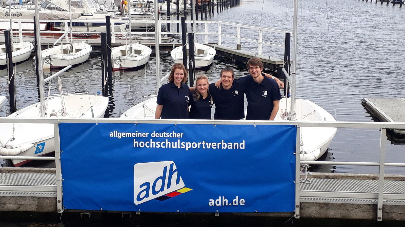 Die FAU Teams in Kiel.