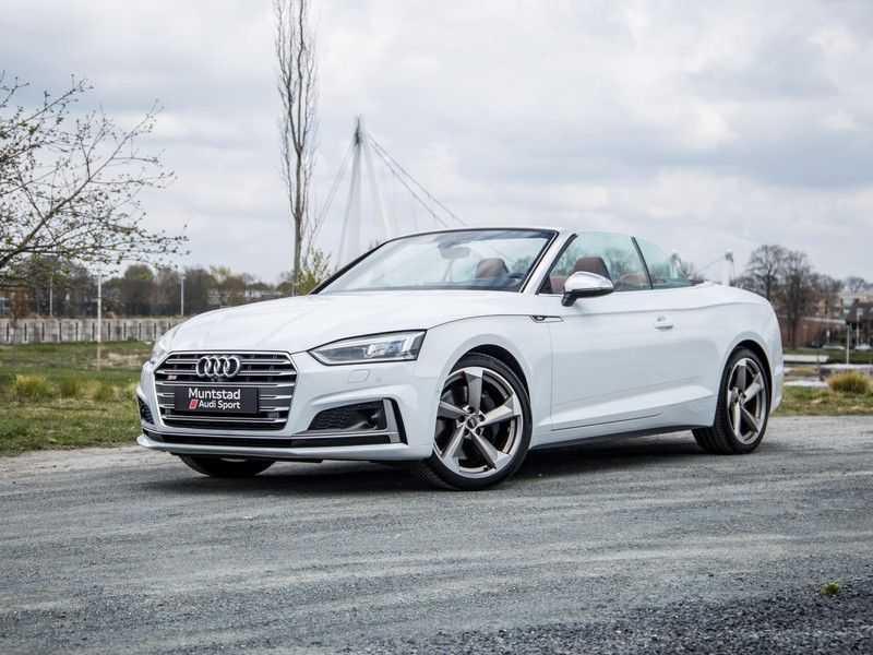 Audi S5 Cabriolet 3.0 TFSI S5 quattro Pro Line Plus 354PK | 2 x S-Line | Adapt.Cruise | Massage Stoelen | 360 Camera | afbeelding 16