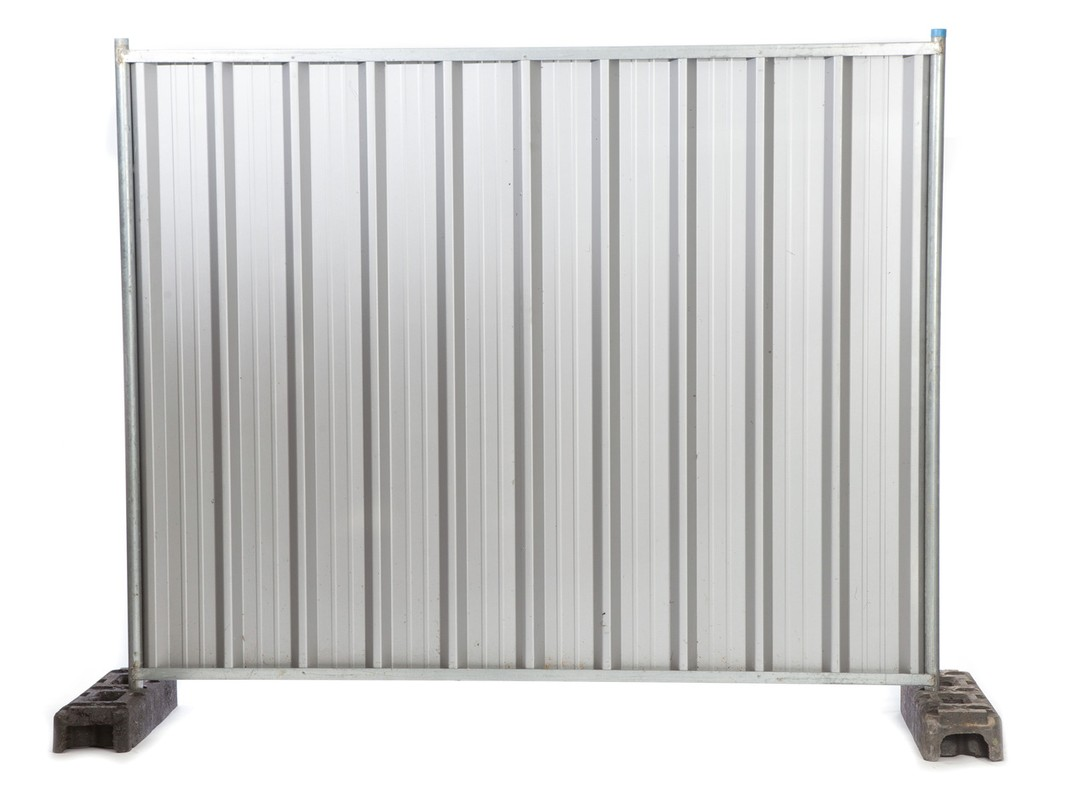 Temporary Steel Hoarding Panel