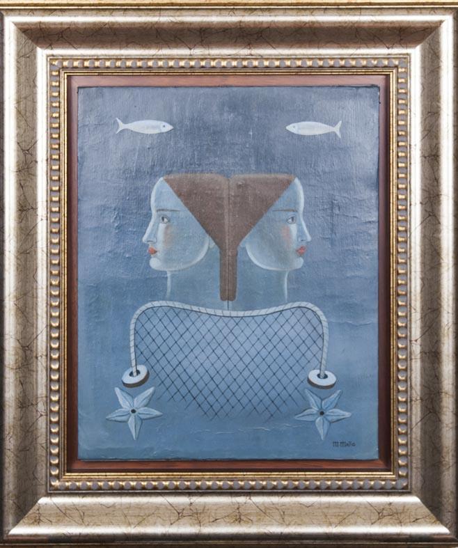M. Mallo - lienzo - 50x40 cm · óleo/lienzo