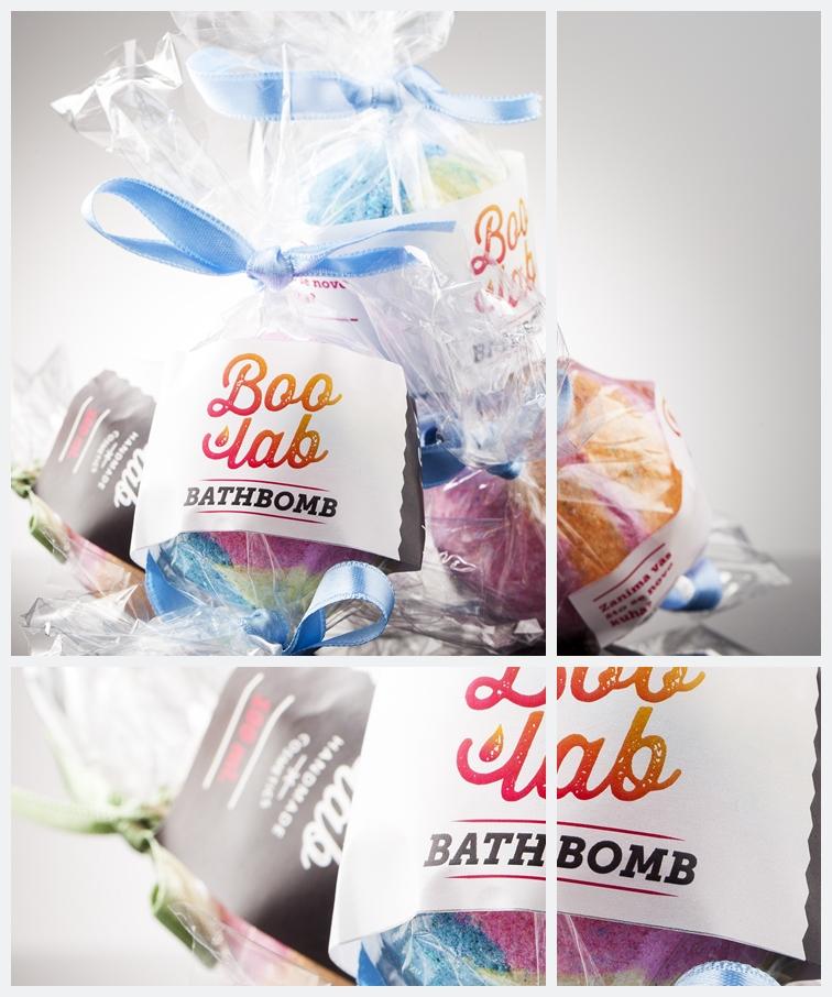Boolab bombice za kupku (bath bombs) u originalnoj ambalaži.
