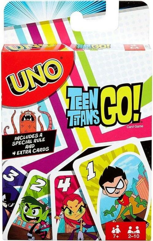 Teen Titans Go! Uno