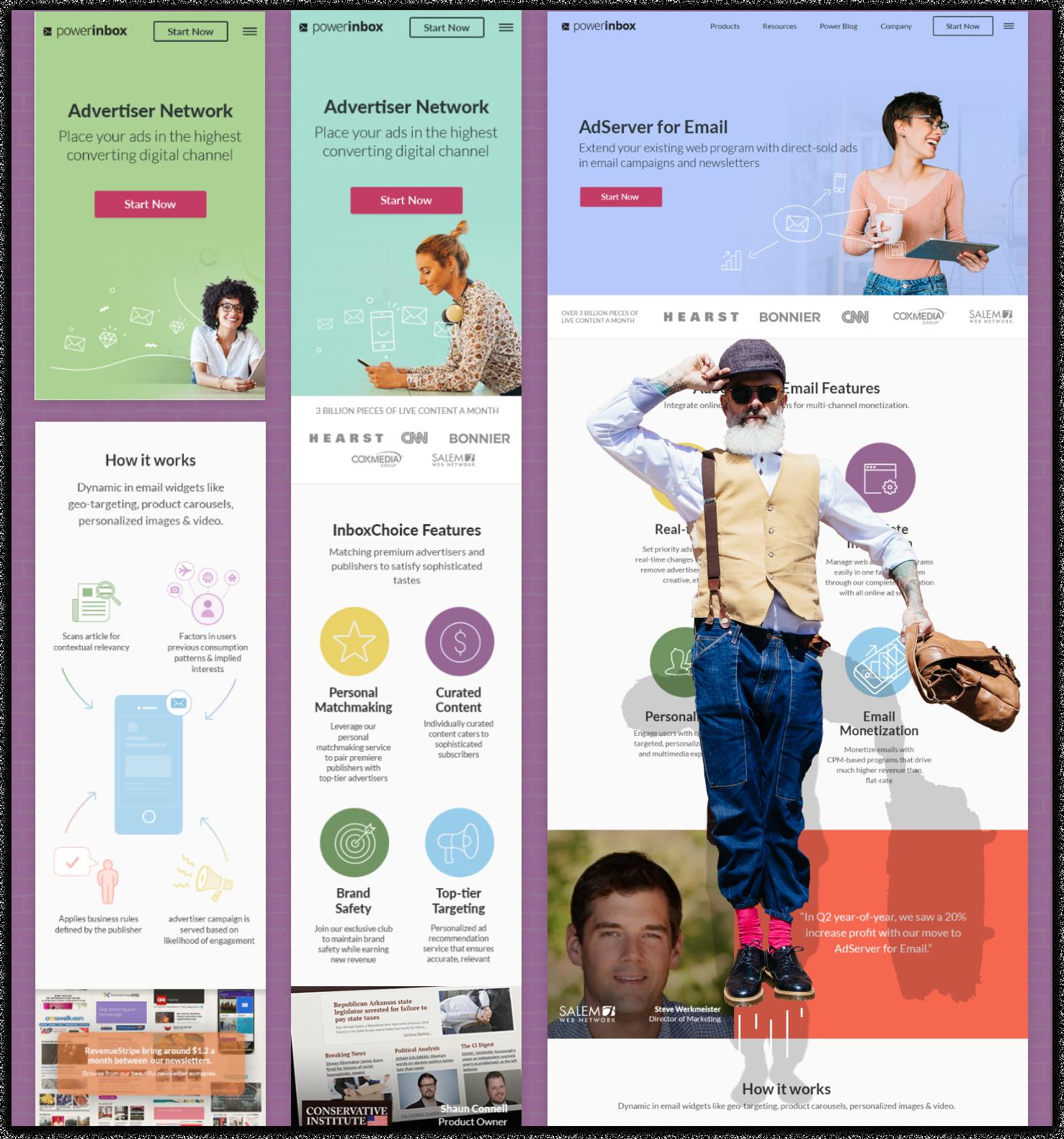 powerinbox Homepage