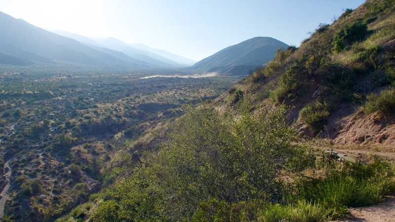 View of Swarthout Canyon