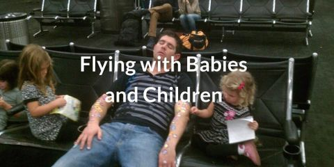 There's only one thing worse than sitting next to a screaming baby on your flight, and that's being the parent of that baby!