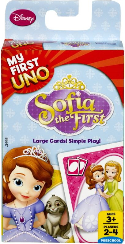 Sofia the First My First Uno