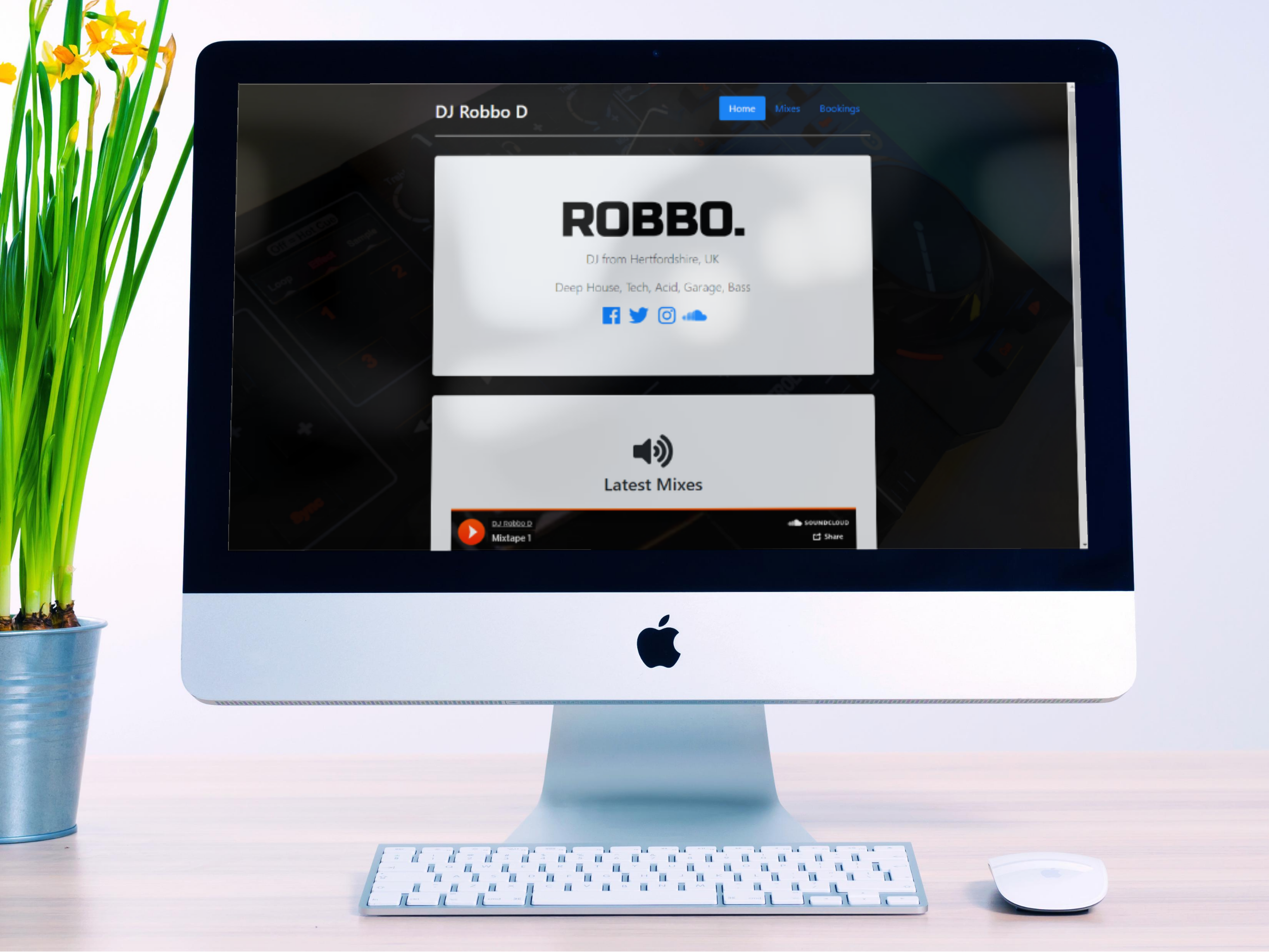 DJ Robbo D Website