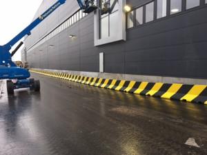Concrete Barrier Installation