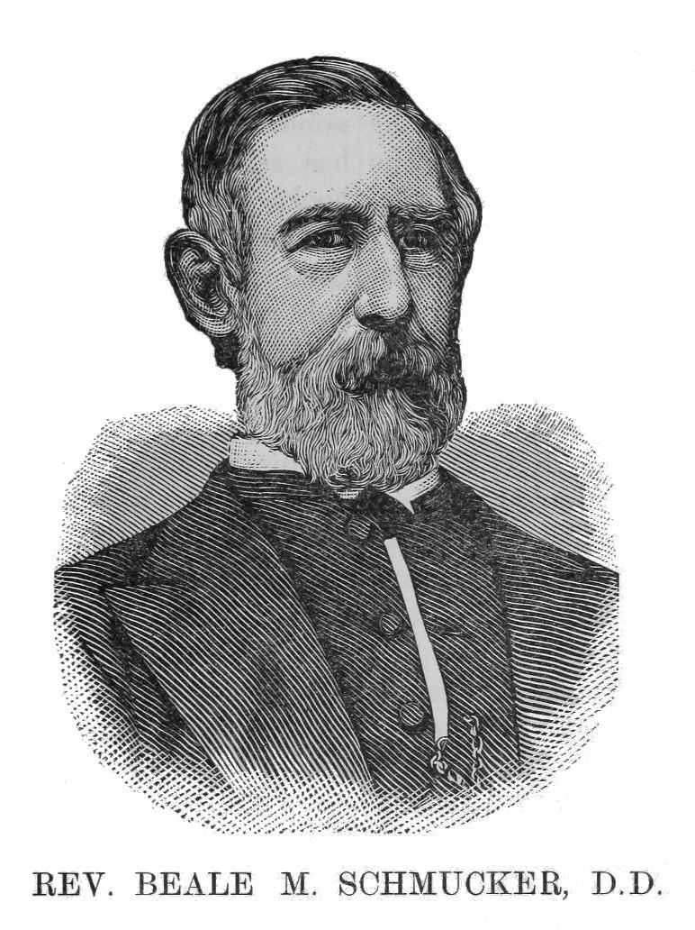 Beale Melanchthon Schmucker