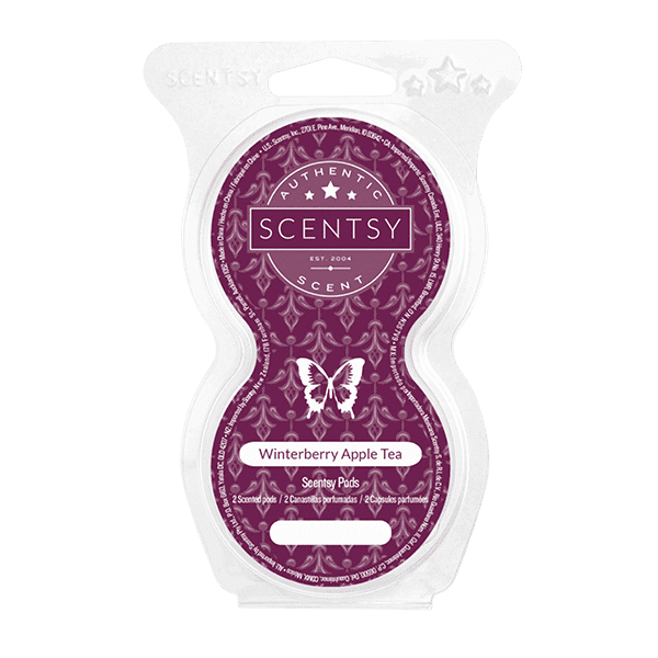 Winterberry Apple Tea Scentsy Pod Twin Pack