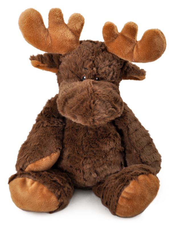 The Petting Zoo: Snugglerz Moose Plush