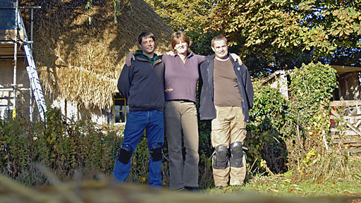 craftsmen posing for picture