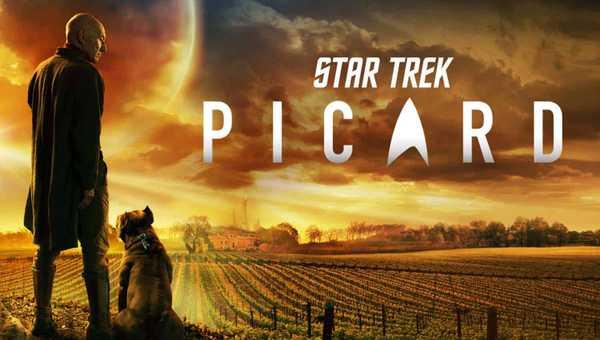 Patrick Stewart como Jean-Luc Picard na sérei Jornada nas Estrelas: Picard (Star Trek: Picard)