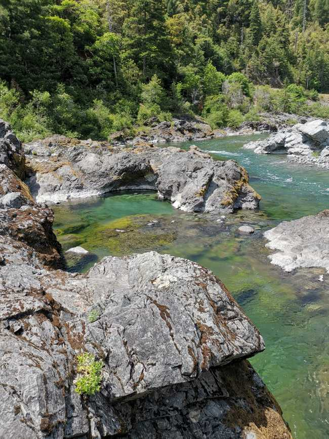 Baignade dans la riviere