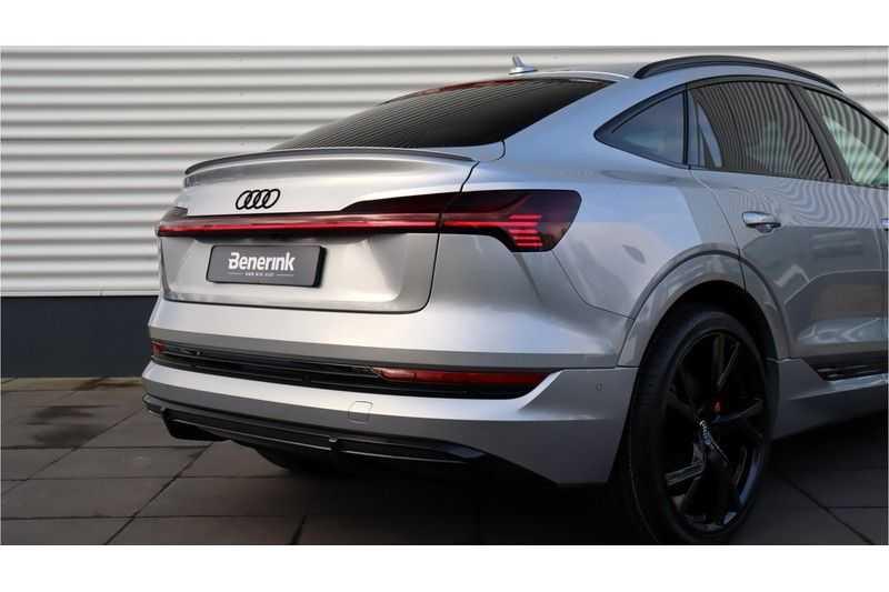 Audi e-tron Sportback 55 quattro S line excl. BTW Panoramadak, S Sportstoelen, Head Up display afbeelding 16