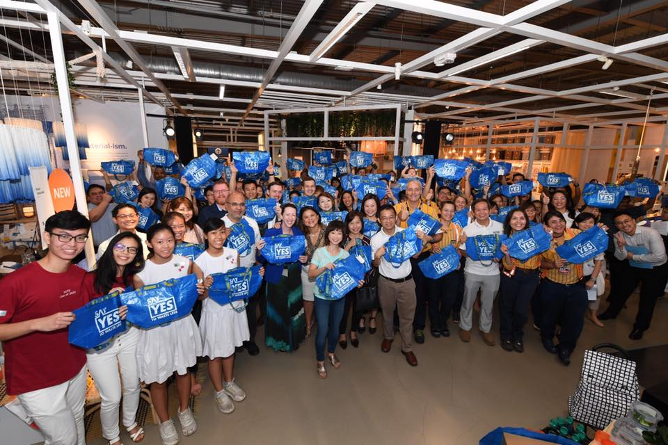 Launch of Say YES To Waste Less campaign at IKEA Tampines