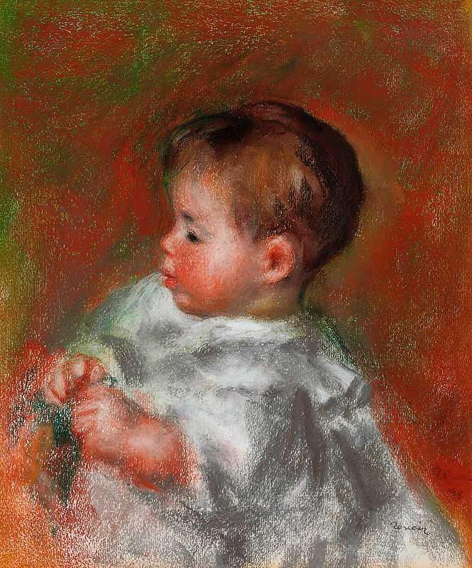 'Marie-Louise Durand-Ruel', by Pierre August Renoir in 1898