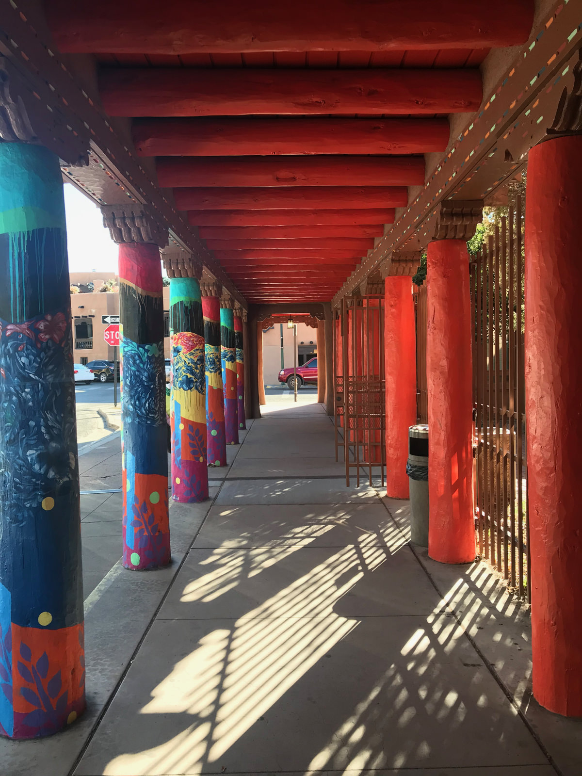 Streets of Santa Fe, NM