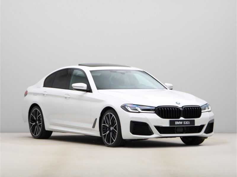 BMW 5 Serie 530i High Exe M-Sport LCI afbeelding 3