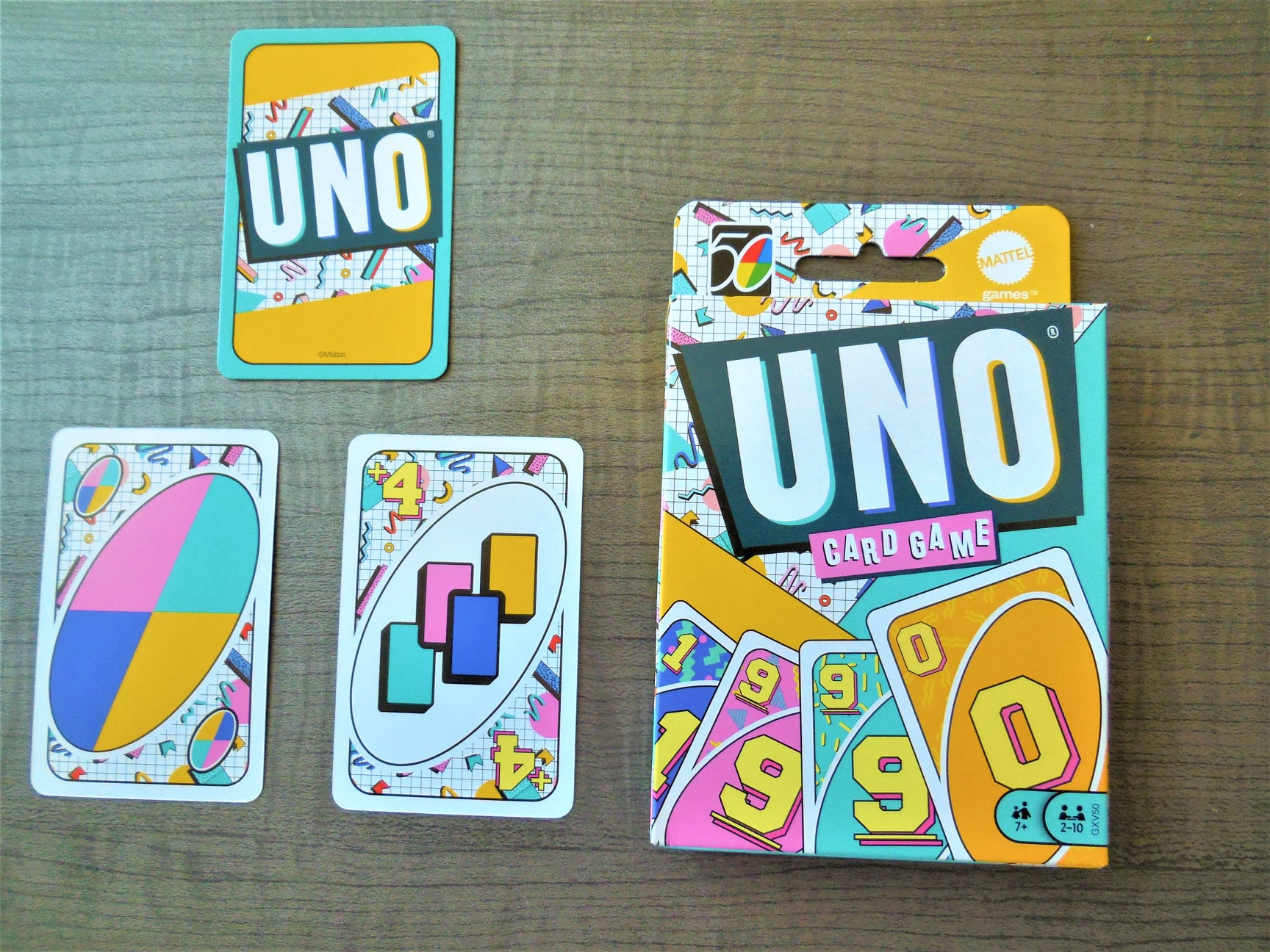Iconic Series 1990s Uno Card Game
