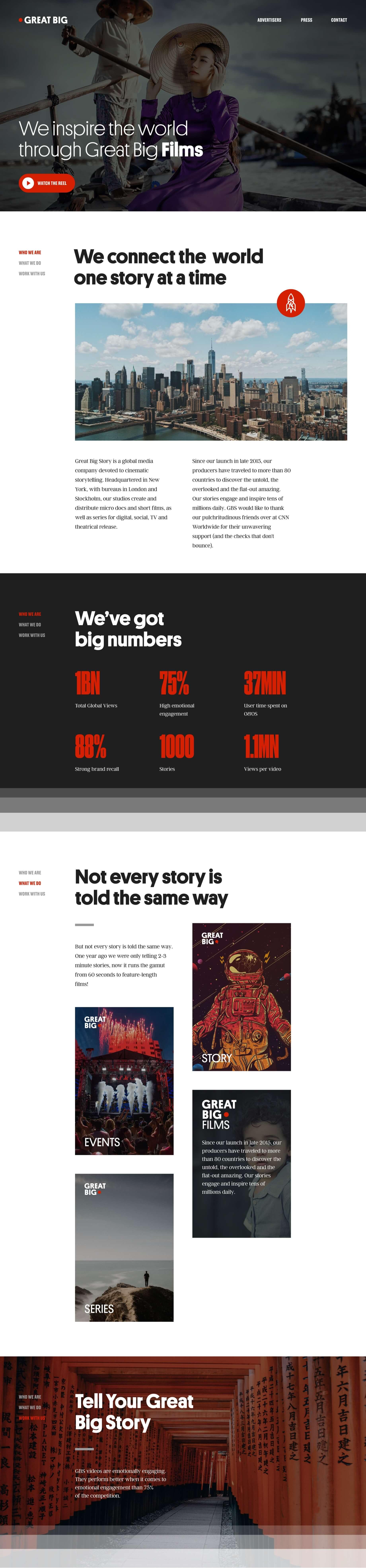 Great Big Story product design image desktop