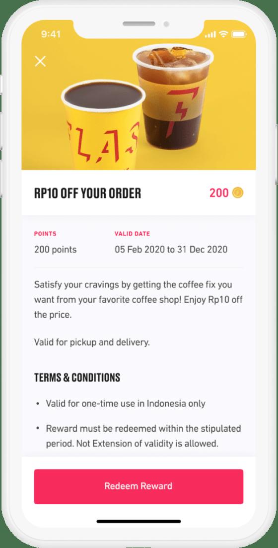 Rewards Screen