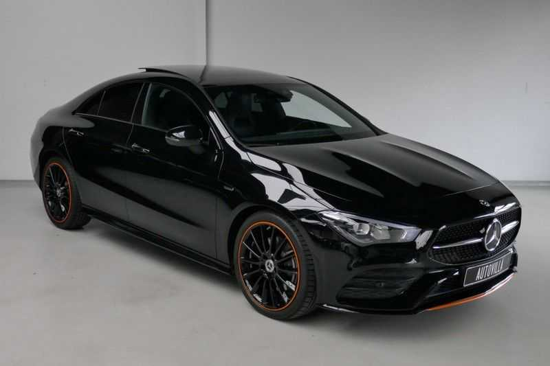 Mercedes-Benz CLA-Klasse 200 d /// AMG Edition 1 Nightpakket - Sfeer verlichting afbeelding 6