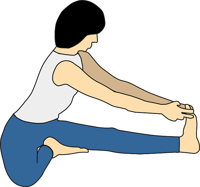 Seated Bend yoga pose