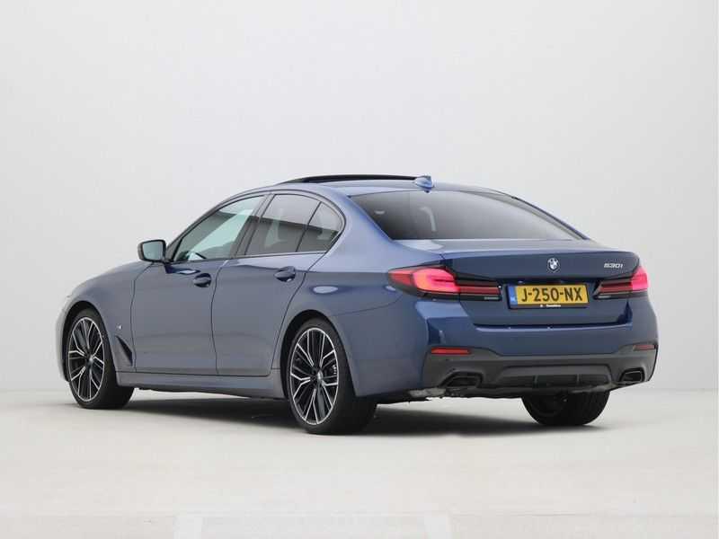 BMW 5 Serie Sedan 530i High Executive M-Sport Automaat afbeelding 17