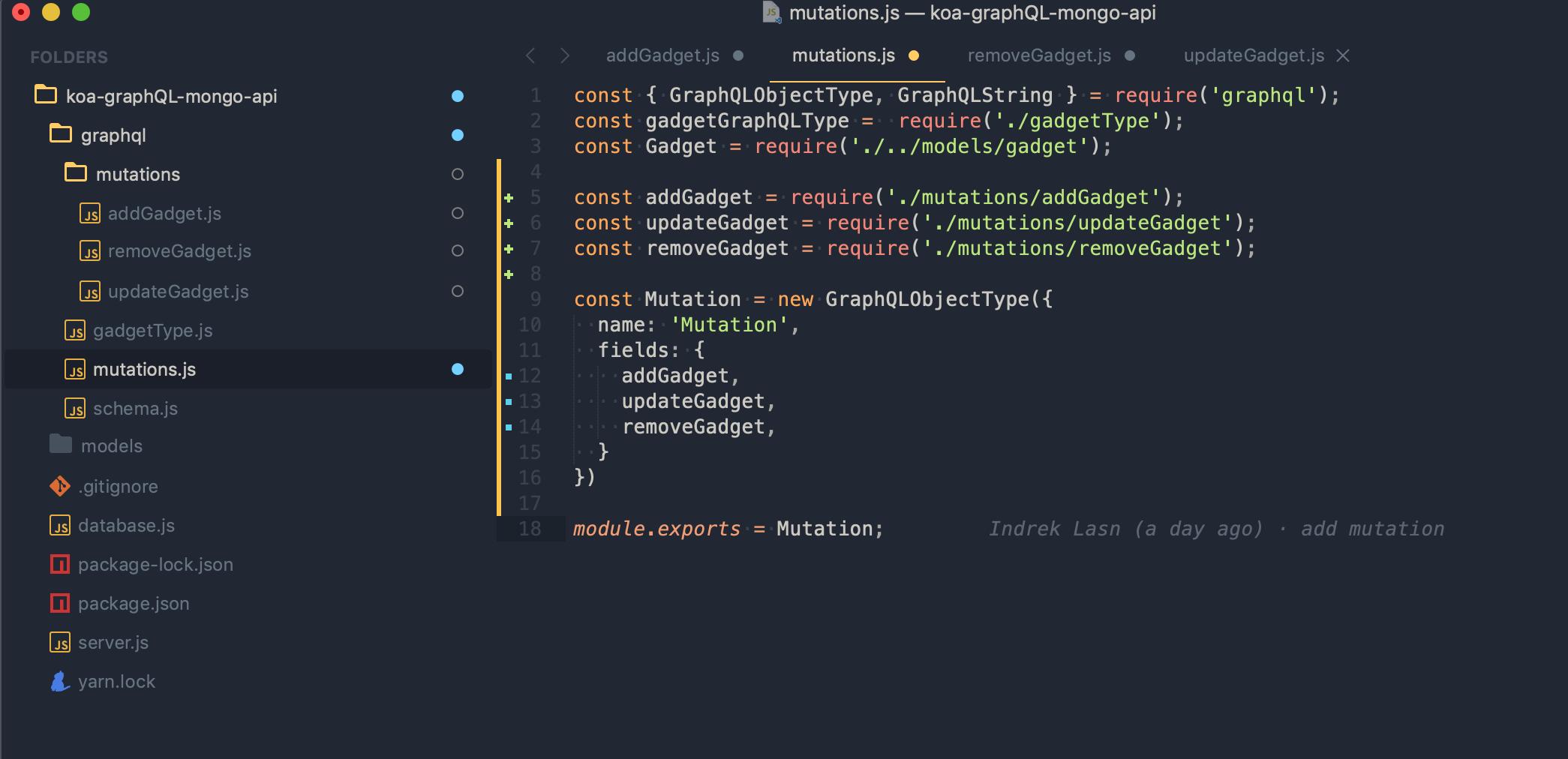 How to setup a powerful API with GraphQL, Koa and MongoDB