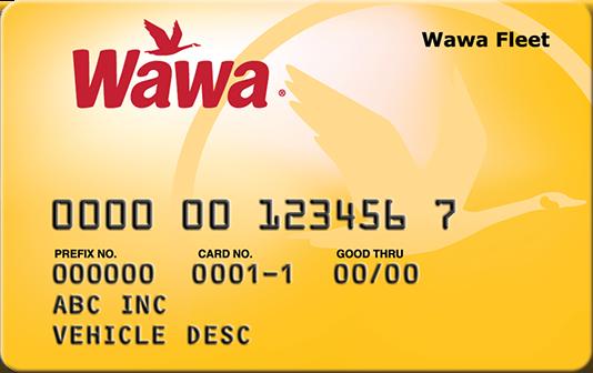 Wawa card