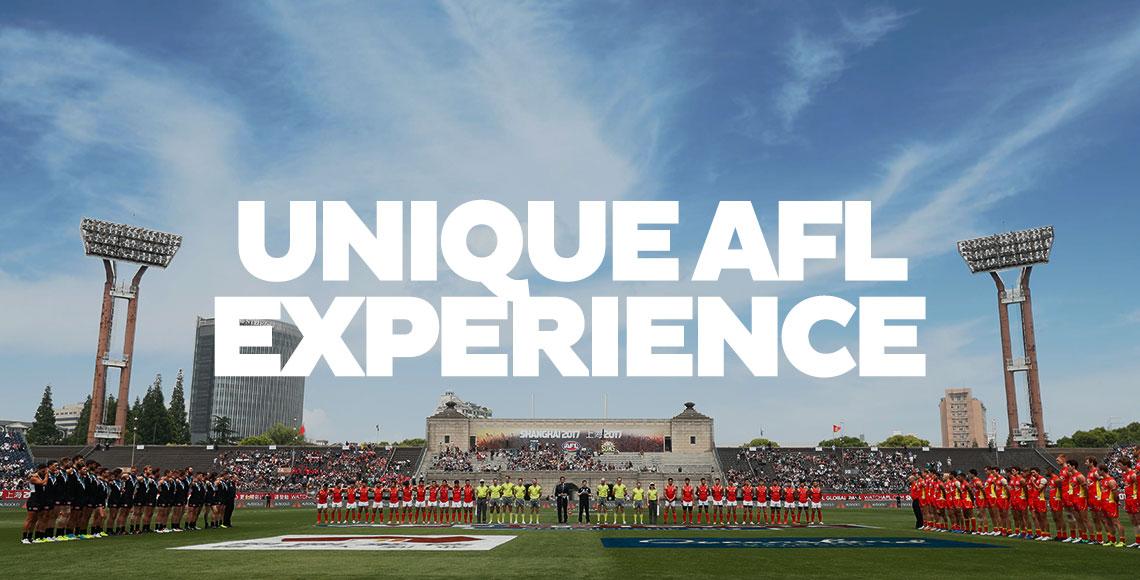 Unique AFL Experience