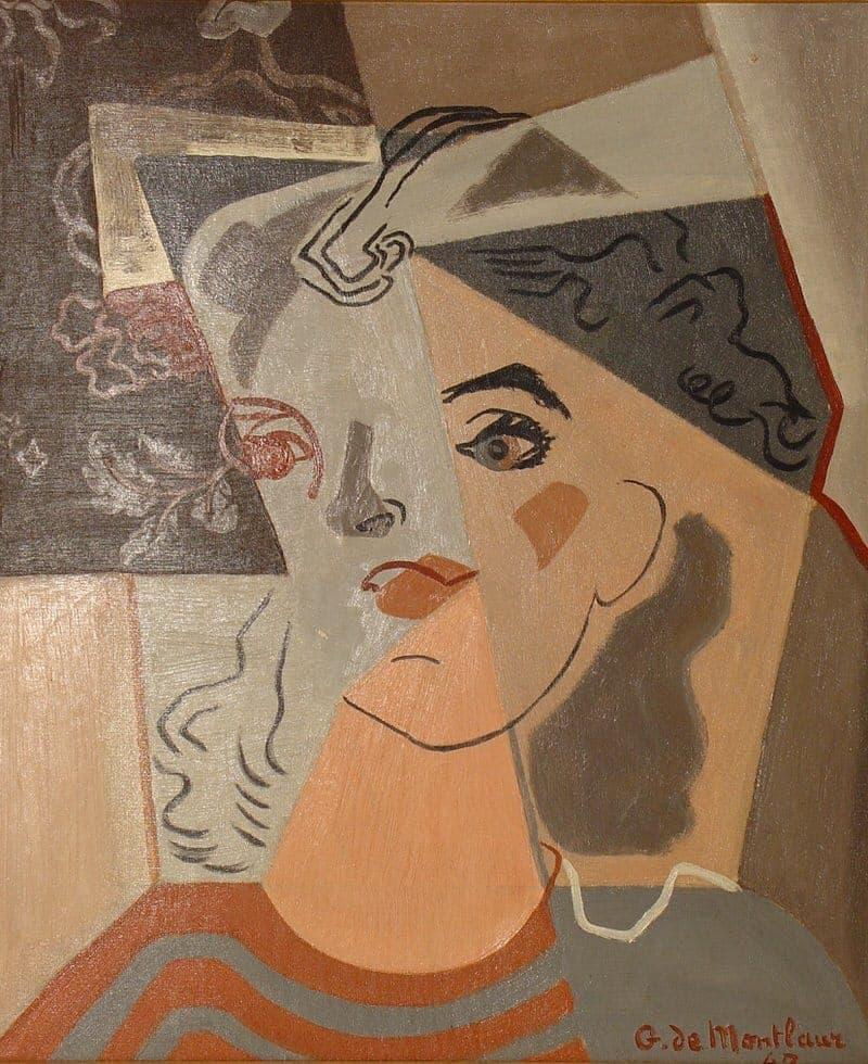 Portrait de sa femme