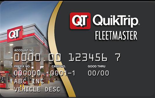 Quiktrip card