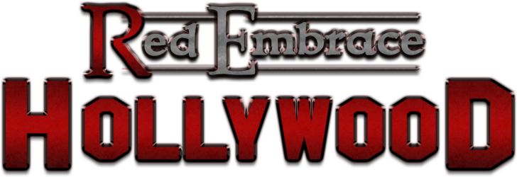 Red Embrace: Hollywood logo