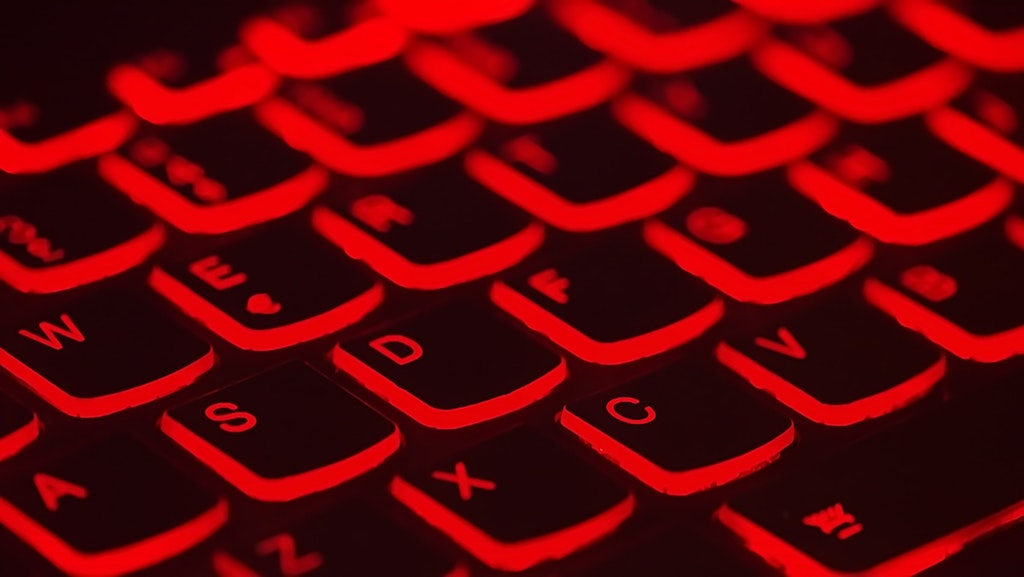 Red Keyboard - Photo by Taskin Ashiq on Unsplash