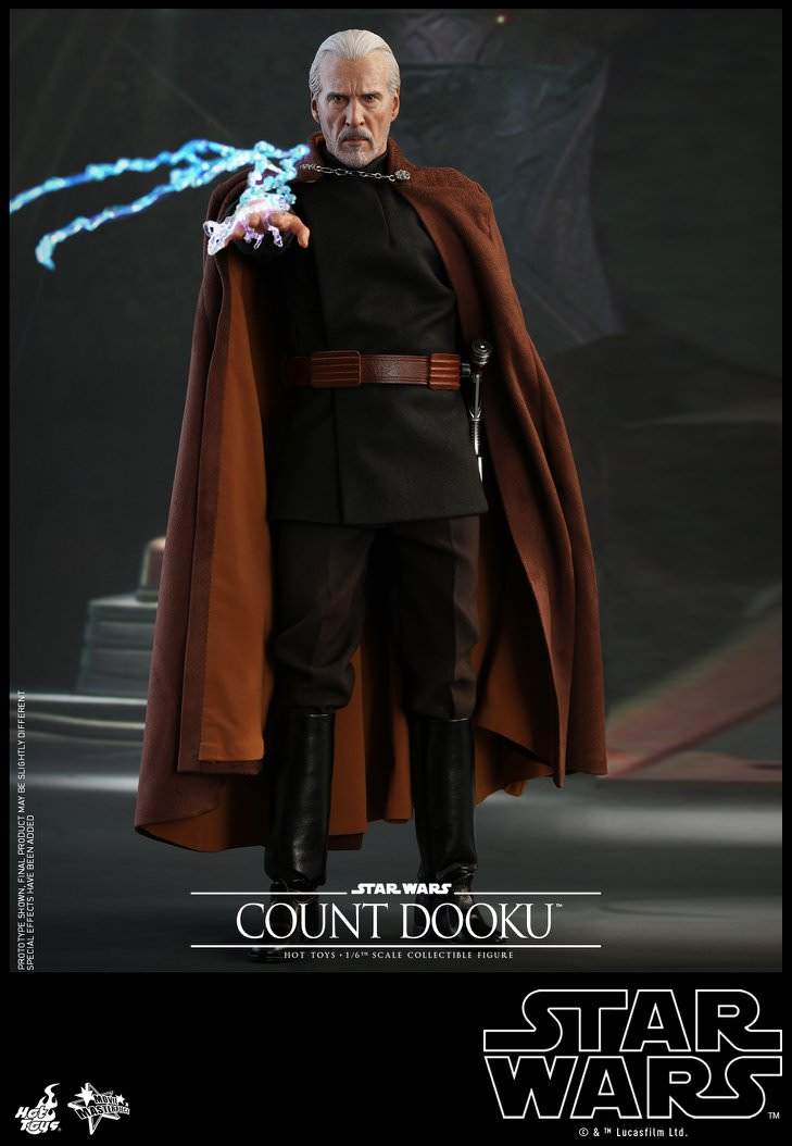 Hot Toys Star Wars: Attack of the Clones MMS496 Count Dooku 1/6th Scale Collectible Figure