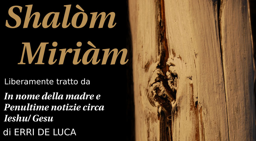 Shalom Miriam - letture spettacoli