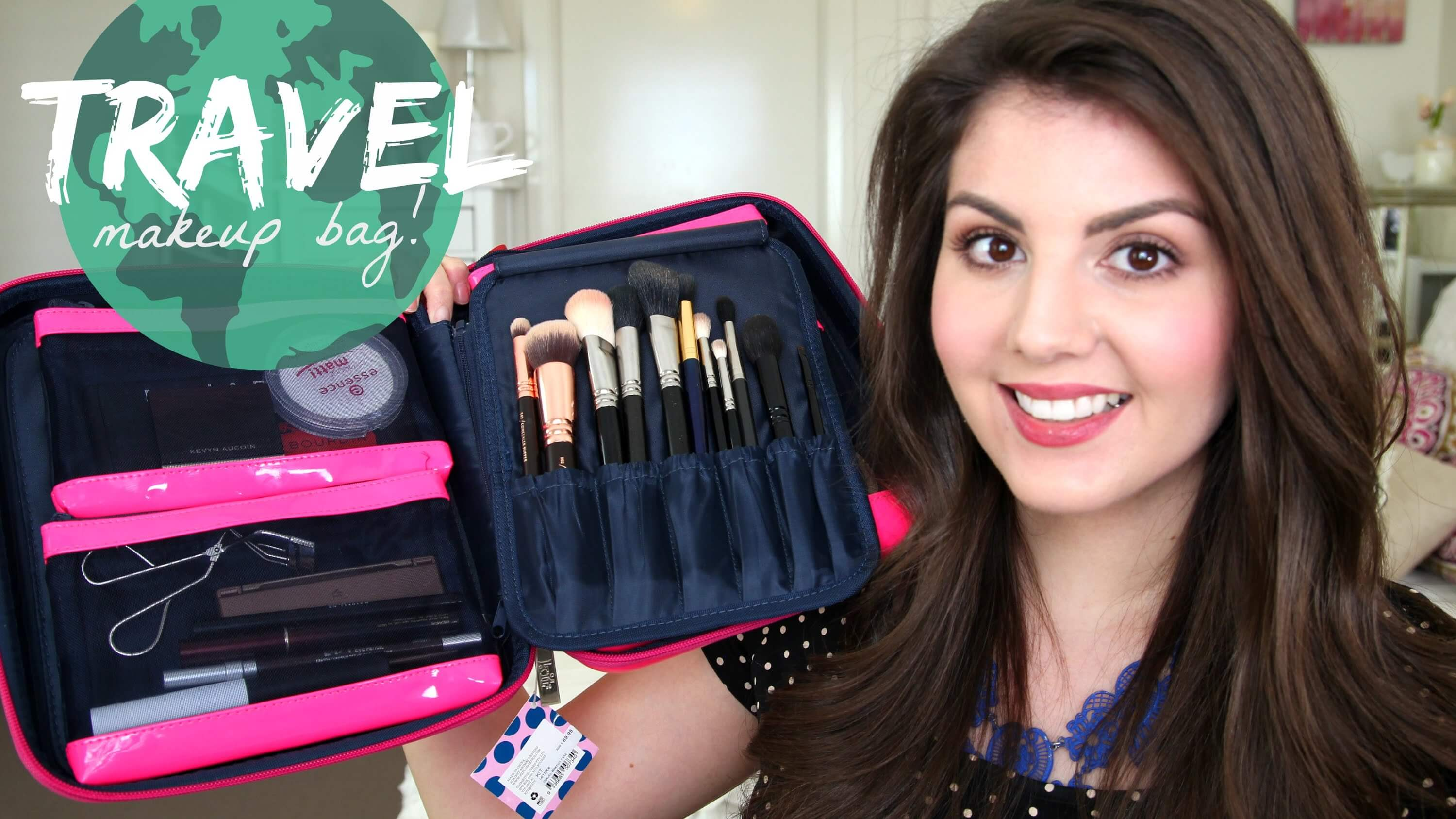 Look Perfect in Every Moment (Buy a Travel Makeup Case)