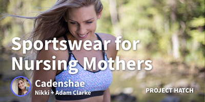 featured image thumbnail for post Growing a Sports Bra For Nursing Mothers into a $330k/month Activewear Business