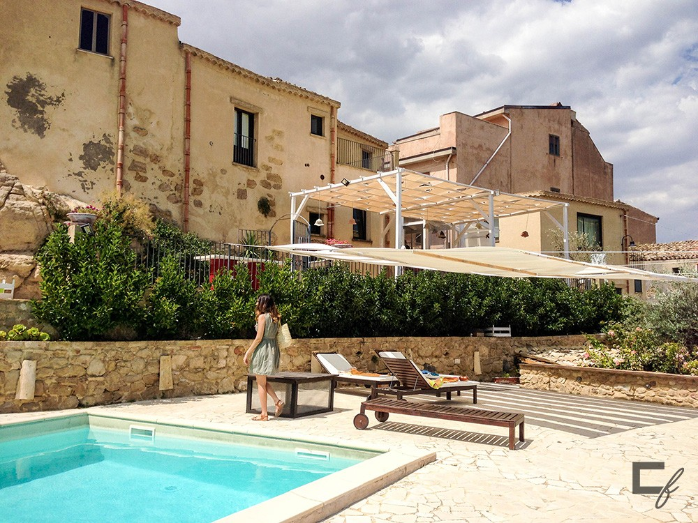 Piscina Case al Borgo, Agira