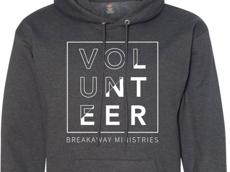 Breakaway Volunteer Hoodies