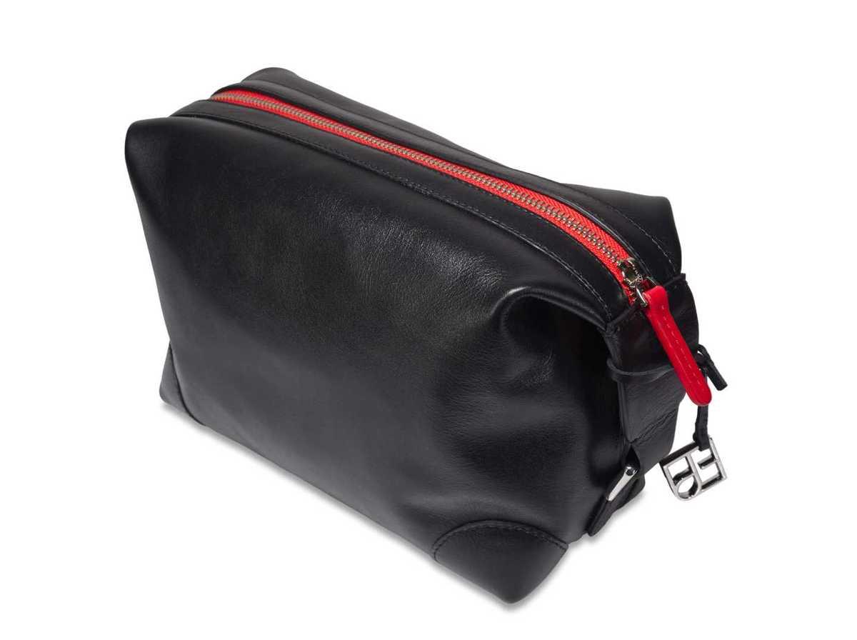 2teiliges Kulturtaschen Set - schwarz