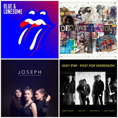 The Rolling Stones, Peter Doherty, Joseph, Iggy Pop