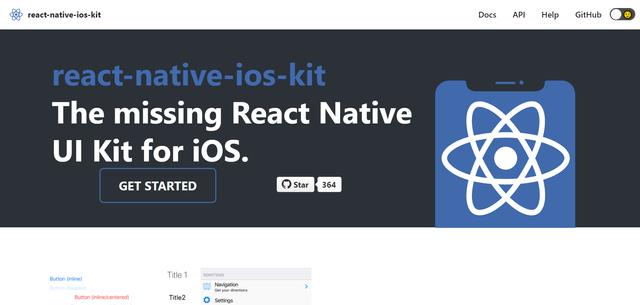 React Native iOS Kit