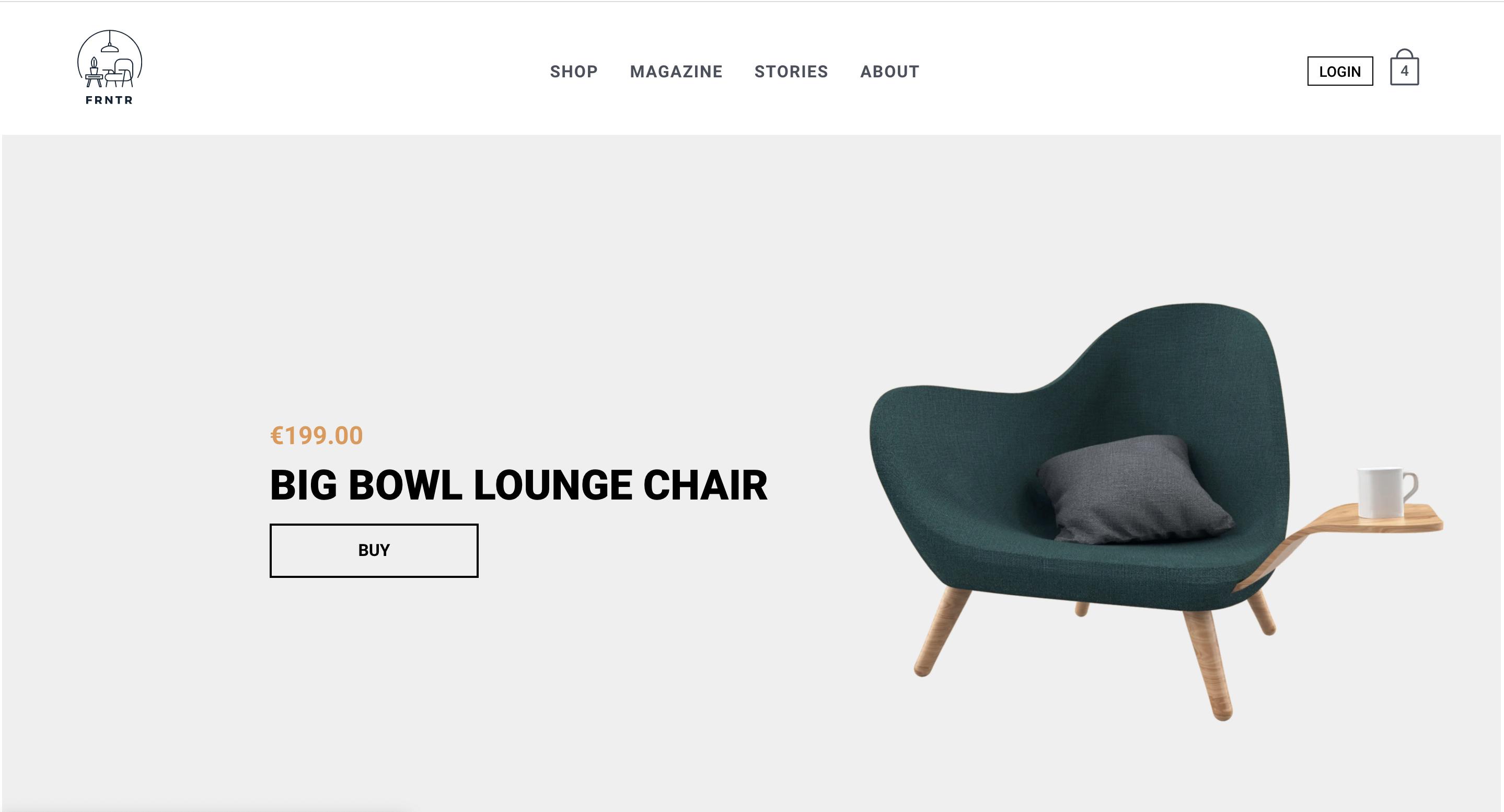 Furniture Shop on Crystallize