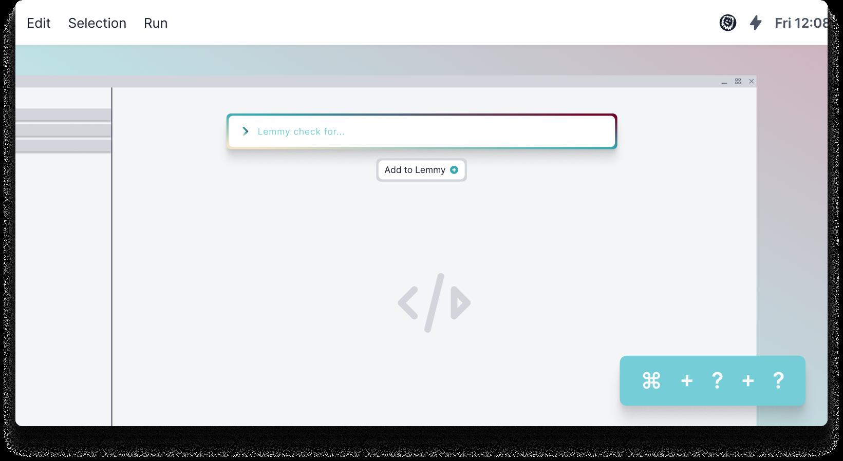 Lemmy App global shortcut feature