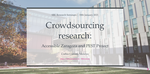 Crowdsourcing research: Accessible Zaragoza and PEST Project