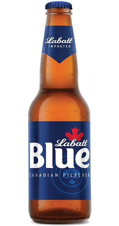 Labatt Blue Bottle Image